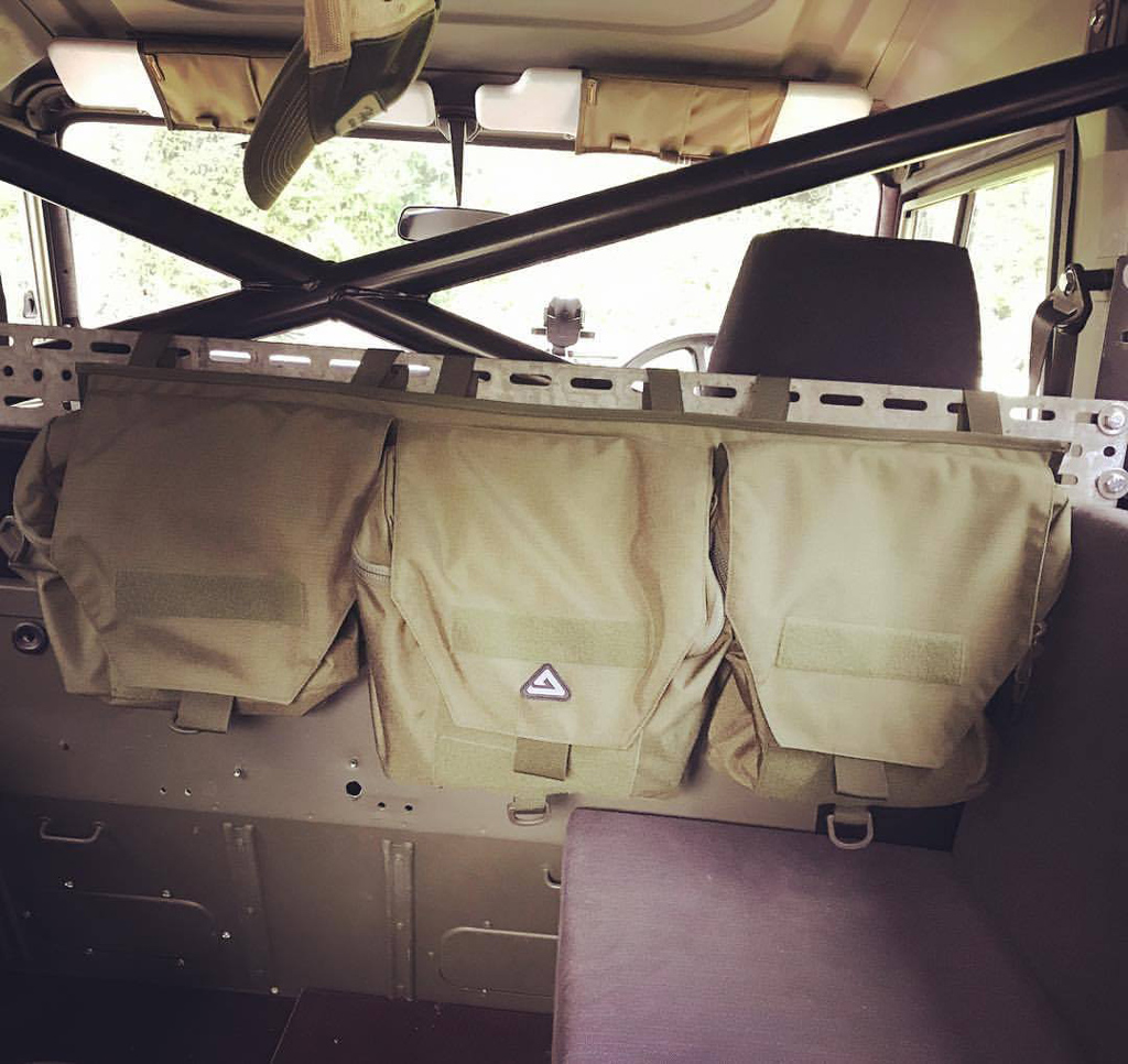 Military green Delta bags