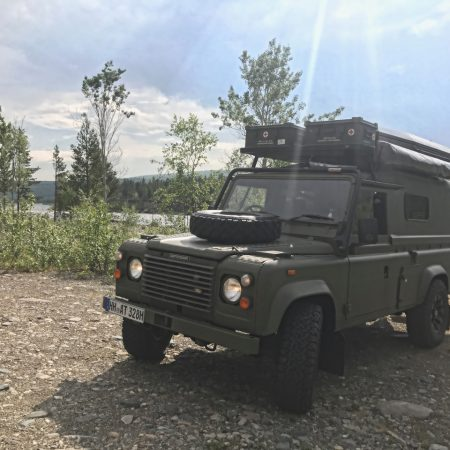 the Outdoor-Monster - Land Rover Defender 110